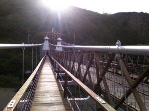 Foto del puente de Occidente, Santa Fe de Antioquia