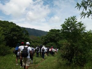 Caminada ecologica en San Jerónimo