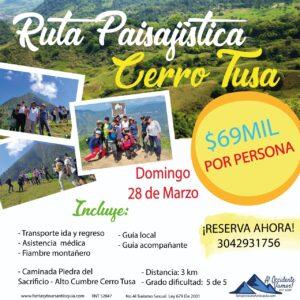 Cerro Tusa, 28 de Marzo