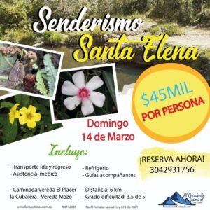 Senderismo en Santa Elena