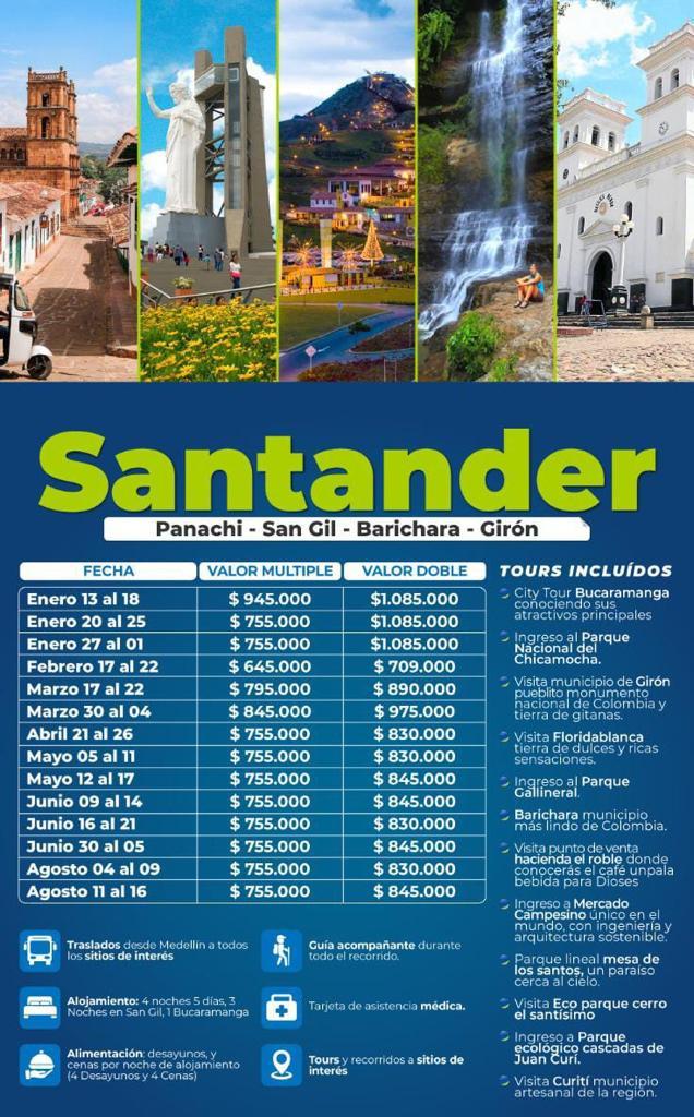 Excursión a Santander en Mayo, Junio y Agosto 2021