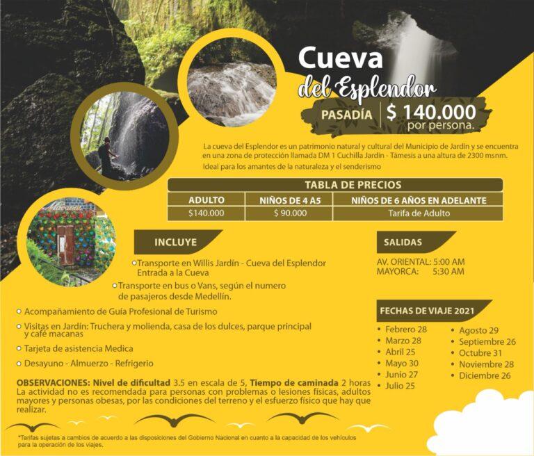 Tour a la Cueva del Esplendor