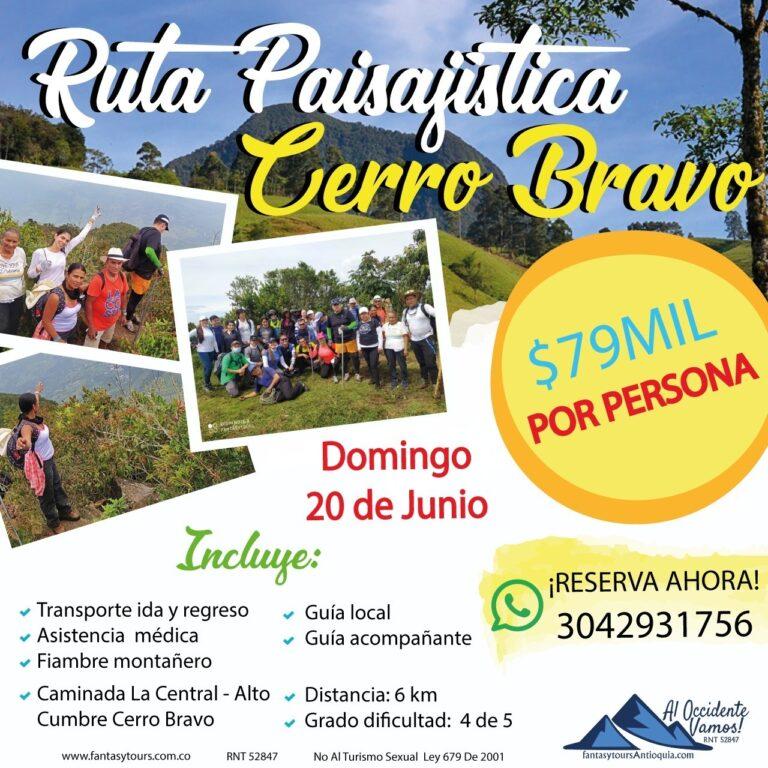 Cerro Bravo 20 Junio