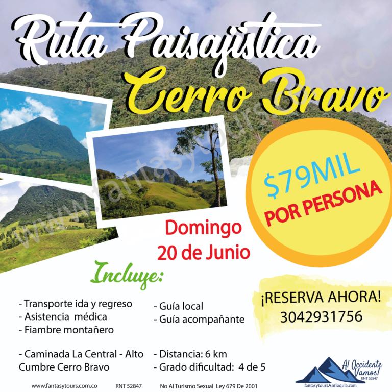 Cerro Bravo, 20 de Junio
