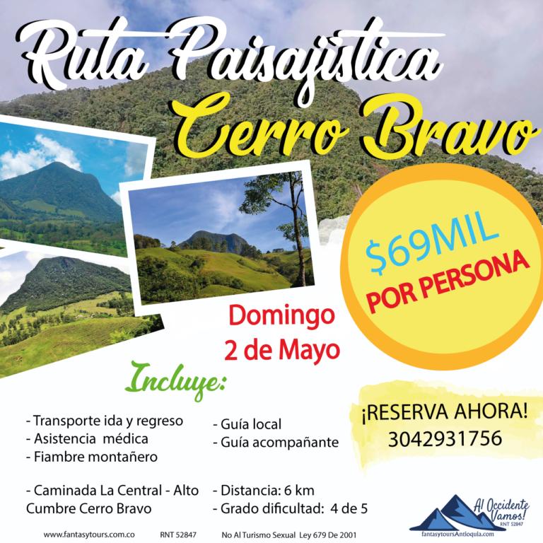 Cerro Bravo, 2 de Mayo