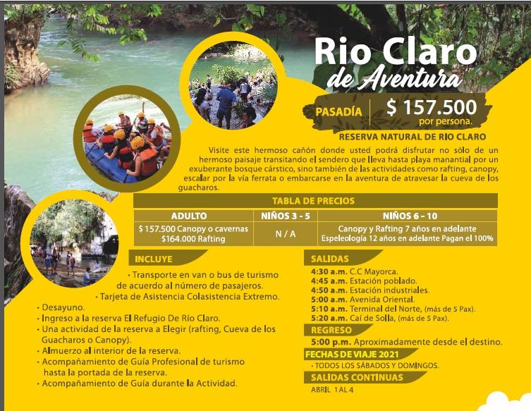 Rio Claro de Aventura