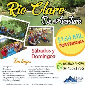 Tour a Rio Claro de Aventura, 2021