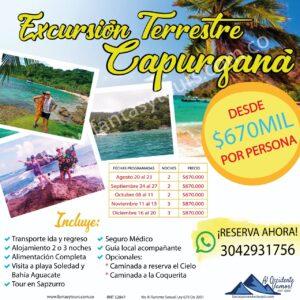 Excursión Terrestre a Capurganá