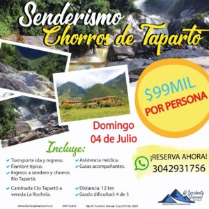 Experiencias Rio Tapartó