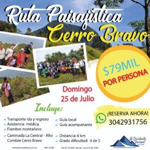Caminada Cerro Bravo