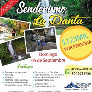 Senderismo La Danta, 5 de Septiembre