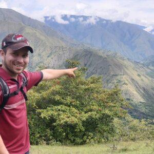 Vista del Rio Cauca, desde Liborina